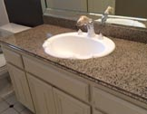After Countertop Resurfacing